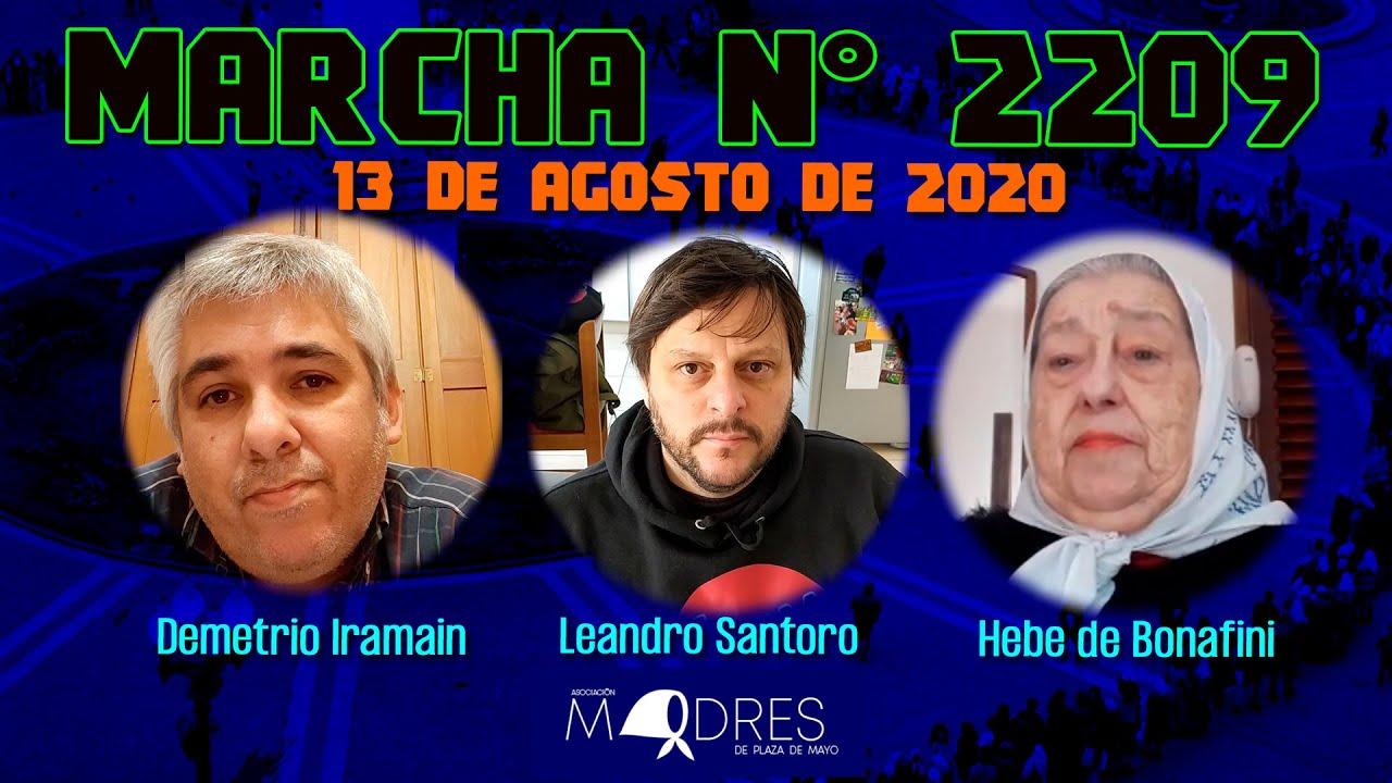 Marcha N° 2209 13/08/20 - Madres de Plaza de Mayo