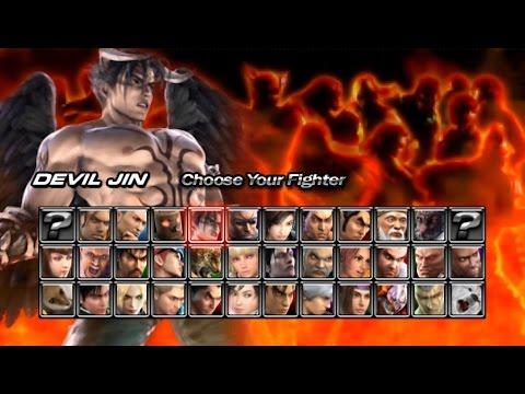 Tekken 5 Dark Resurrection Psp Devil Jin Story Mode Playthrough