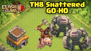 TH8 3-STAR STRATEGY: SHATTERED GOHO - Clash of Clans - Ep 22