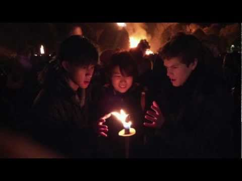 Bonfire Winchester With The University Of Winchester's ISS