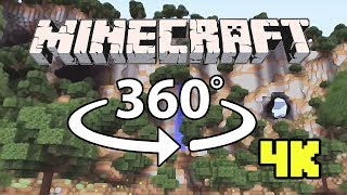 Minecraft [VR] 360° 4K 60 Fps - The Abandoned Kingdom