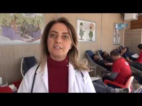 Siverek'te Asker ve vatandaş kan bağışı için seferber oldu