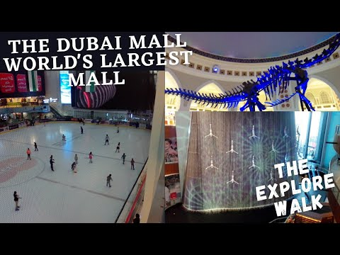 Dubai Mall Ki Sair Nov 2020 | Dubai Mall Full Tour Iconic Place – UAE