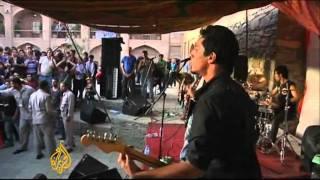 Afghan concert drops beats not bombs