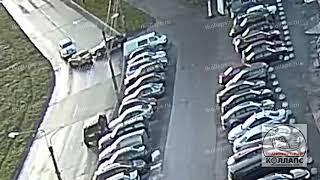 Авария в Красном Селе 16.10.21