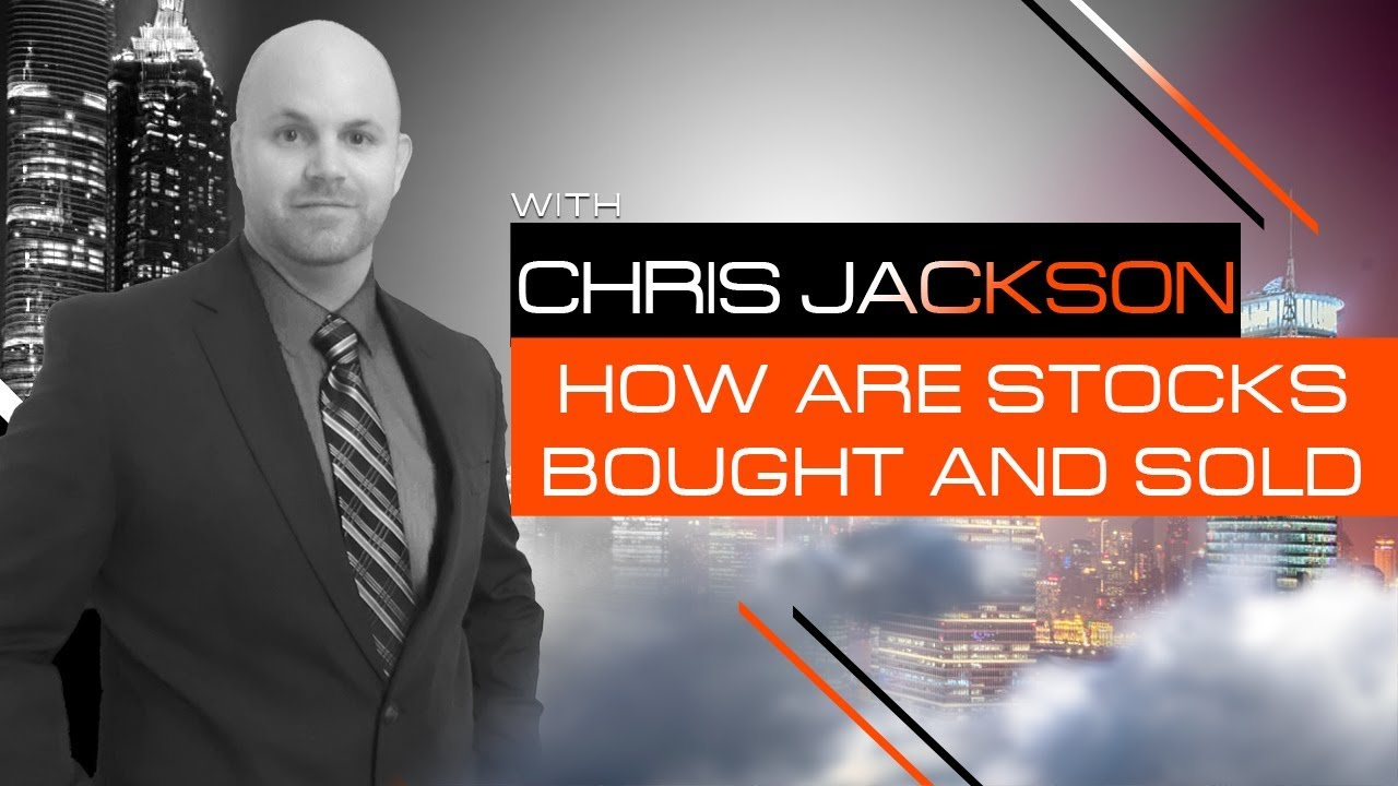 how is stock bought and sold