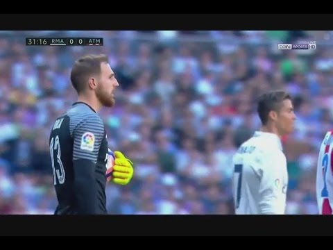 Jan Oblak vs Real Madrid (Away) 2016-17 HD