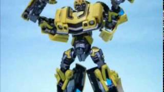 Transformers BUMBLEBEE  stopmotion コマ撮りanimation movie