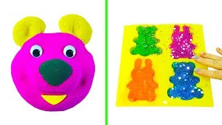 Baby Learn Colors With Slime Egg And Orbeez Toy Pool Video For Children