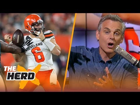 Colin on Baker's play against Philly, Brady's trainer back on the Patriots' plane | NFL | THE HERD