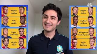 Tabellone Ottavi di Finale Euro 2020