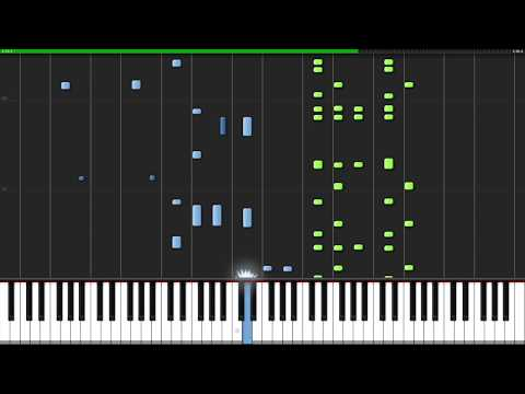 Lose Yourself - Eminem [Piano Tutorial] (Synthesia) // Nicholas Frega