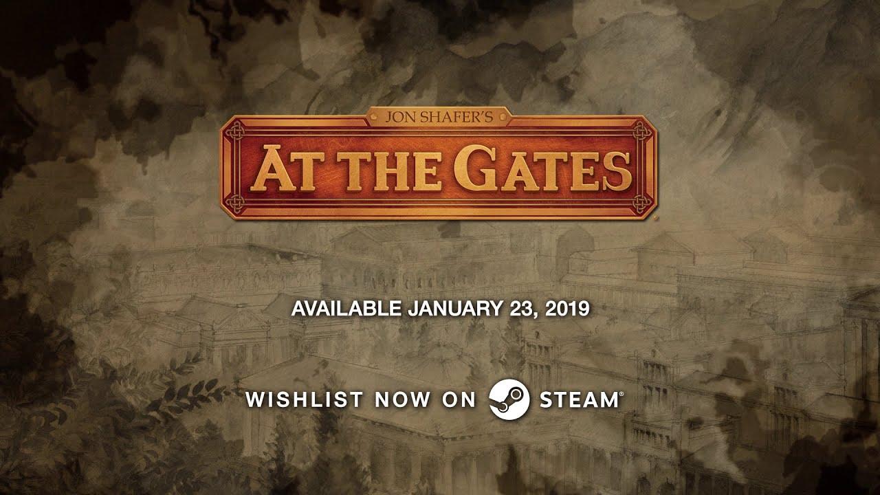 Спустя 7 лет дизайнер Civilization 5 объявил дату выхода At the Gates — трейлер