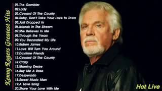 The Best Songs Of Kenny Rogers Nonstop Playlist-- Kenny Rogers Greatest Hits Full Album