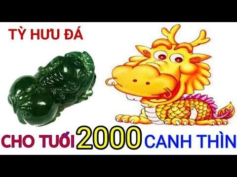 Tỳ Hưu Cho Tuổi Canh Thìn 2000 | Trang Sức Cho Tuổi Canh Thin 2000 | Đá Phong Thủy MsTrang