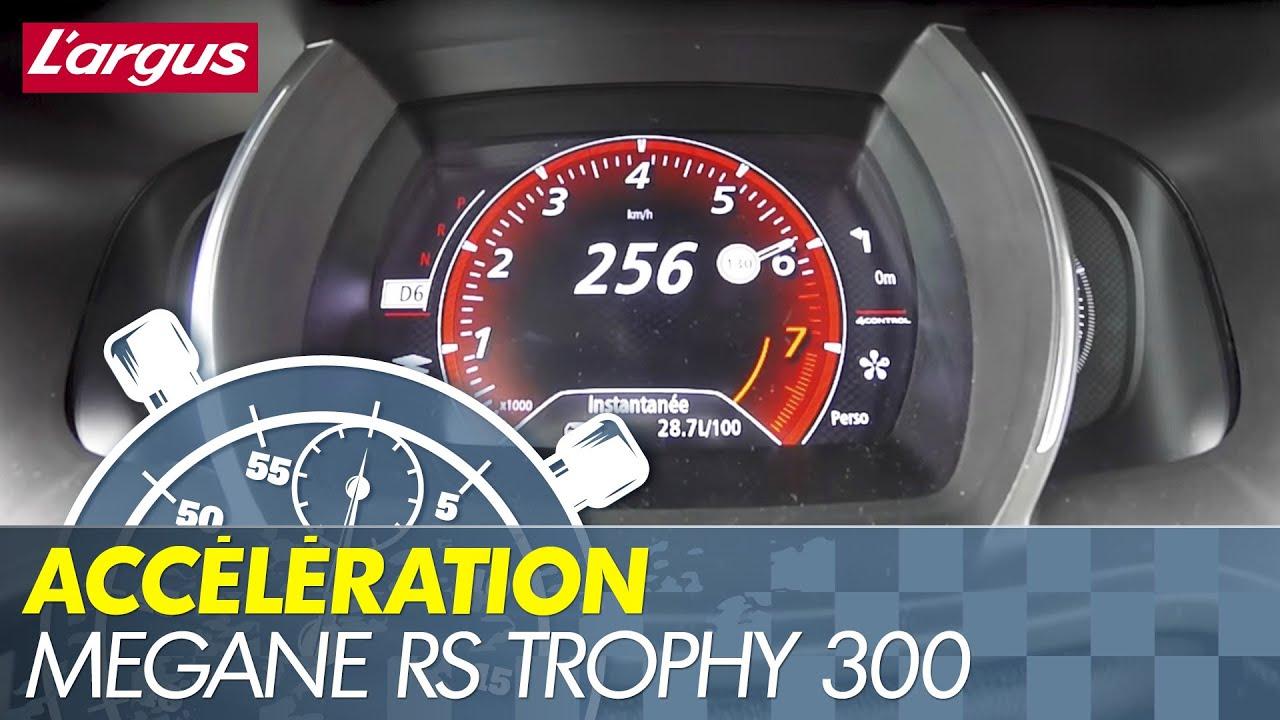 0 265 Renault Megane 4 Rs Trophy 300 Edc Top Speed Acceleration