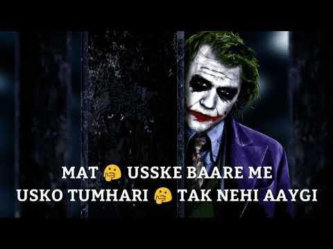 Sad Love Status Shayari   Sad Hindi   Smoke Attitude Joker Status   Ummon Hiyonat WhatsApp Status  1