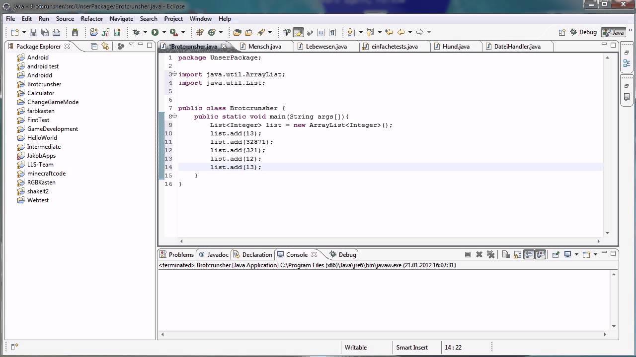Java tutorial 59 list youtube java tutorial 59 list baditri Image collections