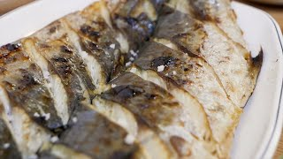 Grilled Spanish Mackerel - Korean Street Food / 삼치구이, 고등어구이 - 망원 청아라생선구이