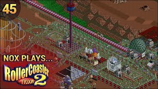 Nox Plays... Rollercoaster Tycoon 2: Time Twister | #45: Future - First Encounters, Pt. 1