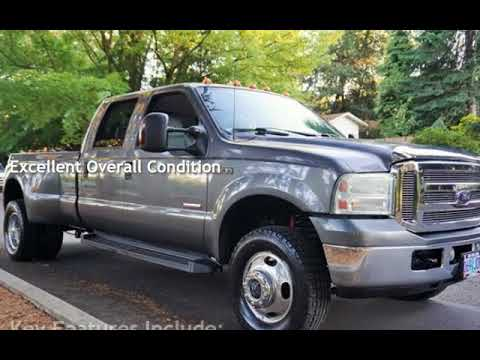 2007 Ford F-350 Lariat 4X4 Dually Powerstroke Diesel for sale in Milwaukie, OR