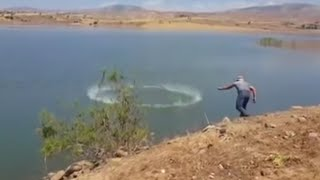 Serpme ile balık avı  (spreading fish )
