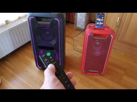 Sony GTK-XB5 és XB7 Hangszoró teszt