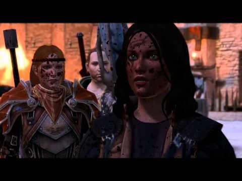 Dragon Age 2 -- Alistair in Kirkwall during qunari attack (non-King, romanced)
