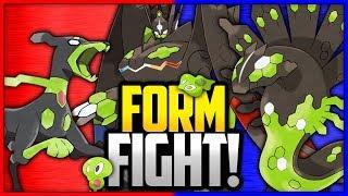 Zygarde: 10% Forme vs 50% Forme vs Complete Forme | Pokémon Form Fight