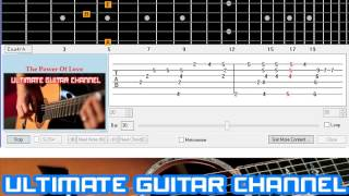 [Guitar Solo Tab] The Power Of Love (Celine Dion)
