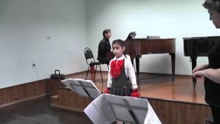 Практический урок сольного пения ДШИ №1 Белгород