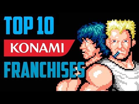 Top 10 Konami Franchises