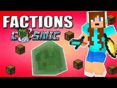 SUMMONING A KING SLIME AND A GODSET DUEL | COSMICPVP FACTIONS S2 #25