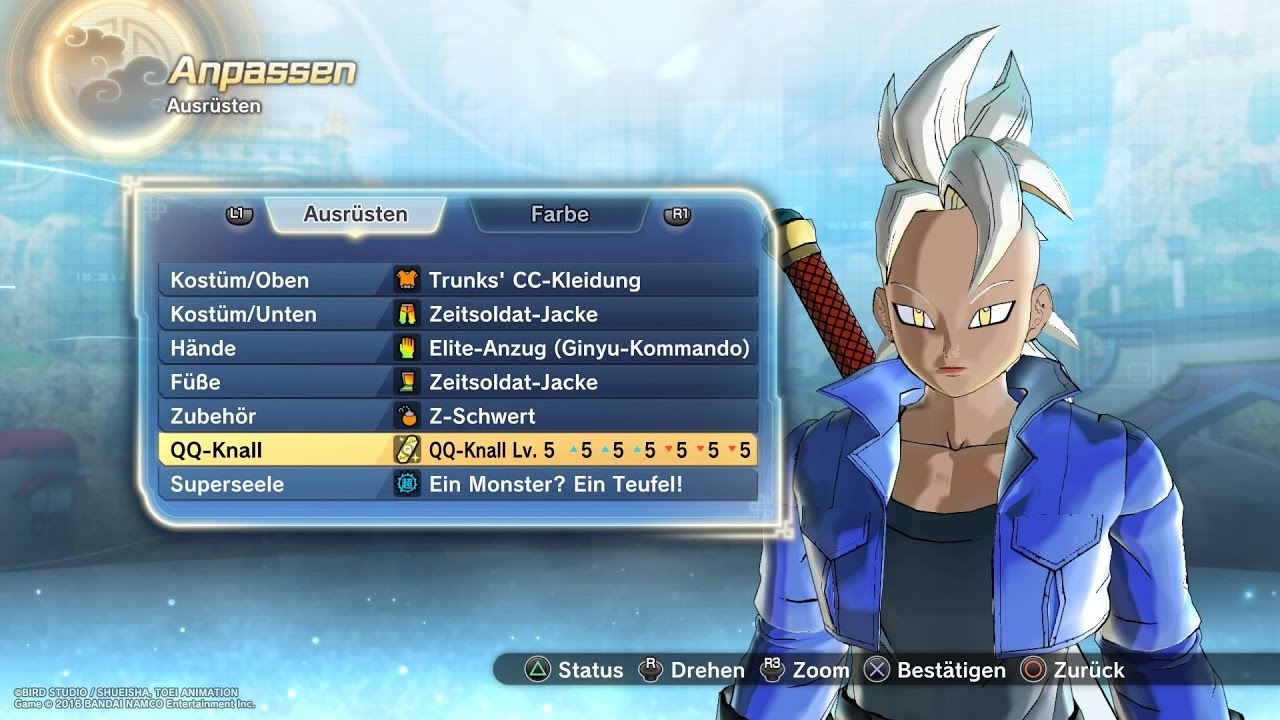 Best Dragon Ball Z Xenoverse  Build
