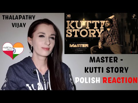 Master - Kutti Story Lyric POLISH REACTION   Thalapathy Vijay   Anirudh Ravichander Lokesh Kanagaraj