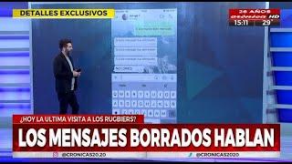 Los mensajes que borraron los rugbiers tras matar a Fernando