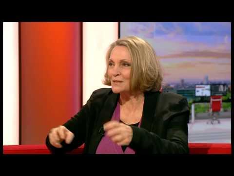 Tracks author Robyn Davidson on BBC Breakfast