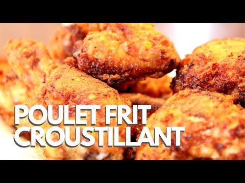 poulet-frit-croustillant-&-épicé-!-poulet-américain-style-kfc---frit-à-l'huile---recette-#247