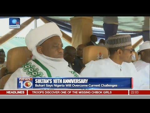 News@10: Buhari Assures Nigeria Will Overcome Current Challenges 05/11/16 Pt.1