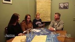 Esa Latva-Äijö Sammon keskuslukion haastattelussa