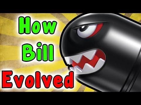 Evolution Of BULLET BILL (1985 - 2017) Mp3