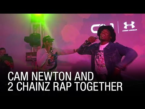 Cam Newton And 2 Chainz Rap Together