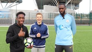 CROSSBAR CHALLENGE WITH YAYA TOURE AND CHRIS MD!!!