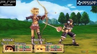 Brave Story: New Traveler - PSP Gameplay 1080p (PPSSPP)