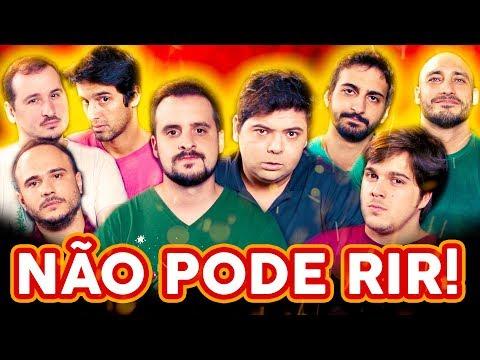 NÃO PODE RIR! - com Gustavo Mendes, Lucas Salles, Ygor Freitas e Thiago Rex