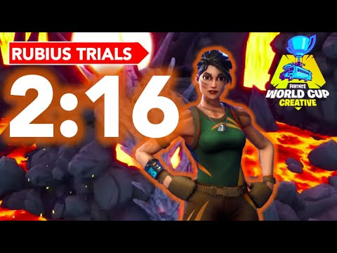 Rubiu's Creative Time Trial 2:16! Former World Record #Rubiustrial