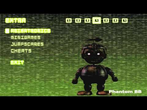 THE ANIMATRONICS WERE BURNED! OFFICIAL FIVE NIGHTS AT FREDDY'S 3 ANIMATRONIC NAMES! Extra MENU!