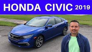 Honda Civic Sedan 2019 ANTES de comprar mira esta prueba - en español