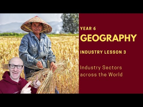 Geography   Industry Lesson 3   Employment Structures across the world