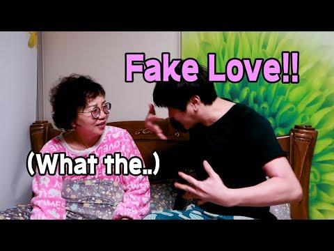 엄마 게임할 때 옆에서 방탄소년단 노래를 불러준다면? // I sang a BTS song for my mom